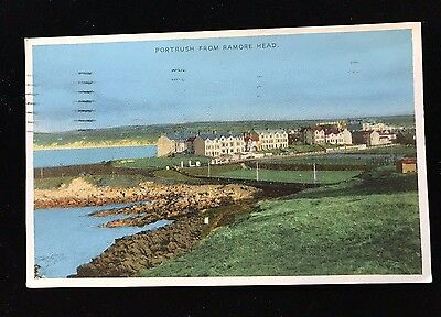 Postcard Portrush from Ramore Head, Posted 1959 - PCBOX1