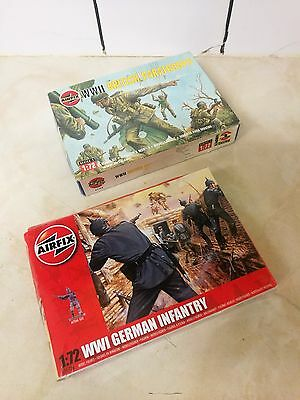 2 x Boxes of 1:72 Scale Airfix Plastic Soldiers