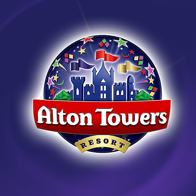 2 x Alton Towers Tickets 11/08/2017 Friday 11th August School Holidays