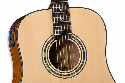 Zager Easy Play ZAD20E Natural Acoustic Electric Guitar