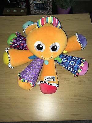 Lamaze Octotunes Octopus Baby Sensory Developmental Soft Toy Scented Musical