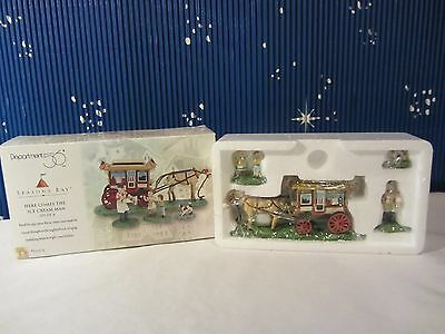 Dept 56 HERE COMES THE ICE CREAM MAN Seasons Bay Collection   #53314   (Q1016SH)