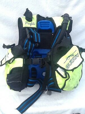 Scuba Diving Buddy AP Valves  Commando Profile BCD Stab Jacket