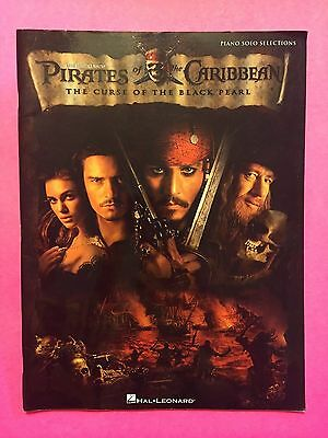Pirates Of The Caribbean: The Curse Of The Black Pearl Piano Solo Hal Leonard