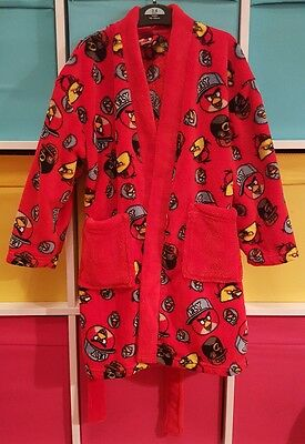 Next Angry Birds Dressing Gown age 5 Years