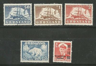 Greenland 1946-59 Selection of Better Catalogue Numbers Mint and Used
