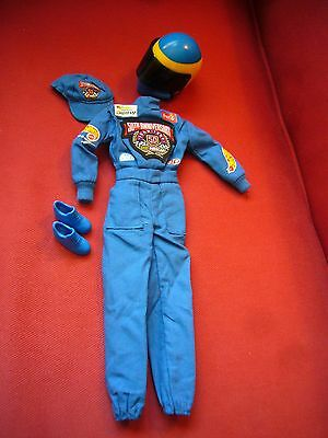 1998 50th Anniversary NASCAR Barbie Doll OUTFIT ONLY Racing Track