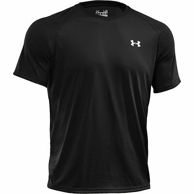 Under Armour Men's Tech Short Sleeve T-Shirt, 1228539, Black, NWT