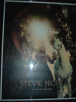 stevie nicks In Your Dreams rare Lithogragh