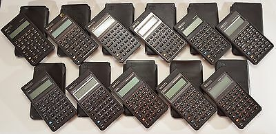 COMPLETE HP Pioneer vintage calculator series: 10B through 42S !!