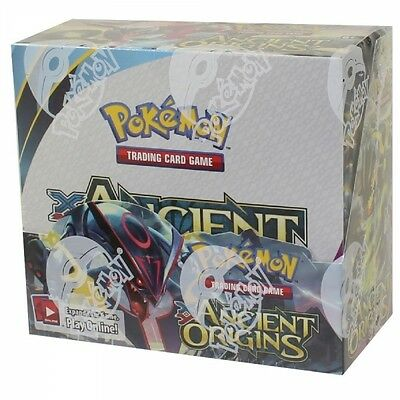 Pokemon XY Ancient Origins Booster Box Factory Sealed - 36 Packs- FAST shipping1