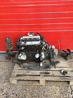 Vauxhall Corsa C 1.8 Sri Engine And Gearbox, Complete, Conversation, Sub Frame