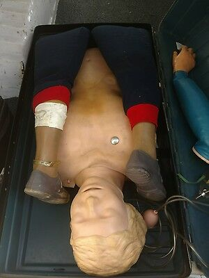 Laerdal Recording Resusci Anne Full Body CPR Mannequin w/Hard Case
