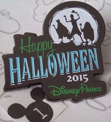 Hitchhiking Ghosts Happy Halloween 2015 Haunted Mansion Disney Parks Pin