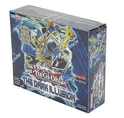 YuGiOh! The Dark Illusion Booster Box - 24 Packs - Konami Sealed - 1st Edition A