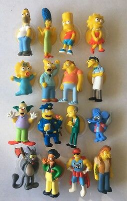 The Simpsons 20th Anniversary Stick'ems Stick Ems Figures - $5 Each