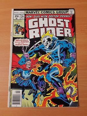 Ghost Rider #29 ~ VERY FINE - NEAR MINT NM ~ (1977, Marvel Comics)