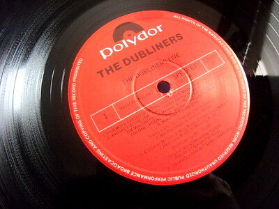 The Dubliners  Live Lp Uk 1St  A1 B1 1974 Polydor Spelp 63  Top Nm Beautiful
