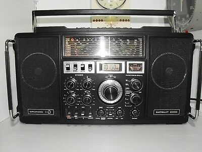 Grundig Satellite 2400 Collectors Dream In Showroom Condition Working Perfectly.