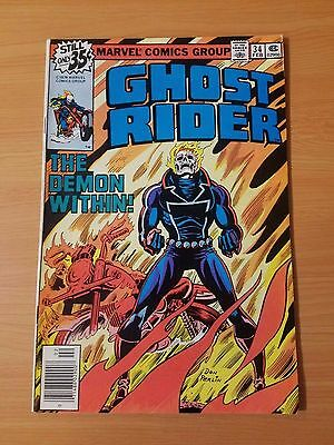 Ghost Rider #34 ~ VERY FINE - NEAR MINT NM ~ (1978, Marvel Comics)