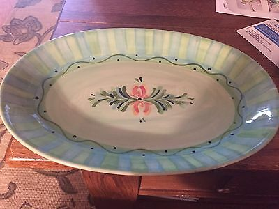 Southern Living at Home Gail Pittman Provence Oval Platter Tray  Discontinued