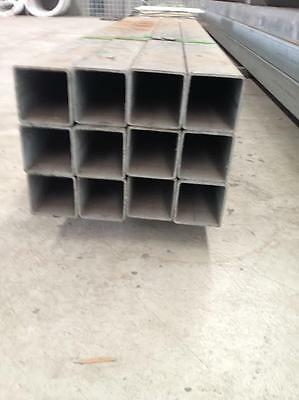 Galvanized square tube 80mm*80mm*3.0mm wall thickness*6m length