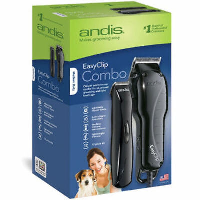 BRAND NEW Andis EasyClip Clipper/Trimmer Combo Kit FREE SHIPPING CANADA AND USA