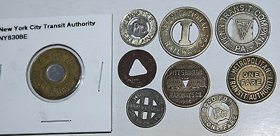 Nice Lot Of Transit Tokens - All Different!!!  #3