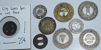 Nice Lot Of Transit Tokens - All Different!!!  #5