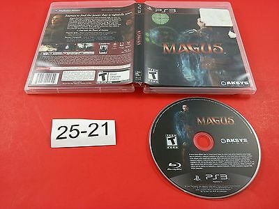 Magus [w/ Box] (Sony Playstation 3 PS3) Tested & Working