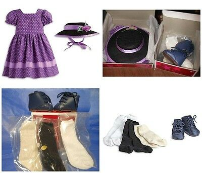 American Girl Addy's Sunday Best & Socks And Shoes New In Box