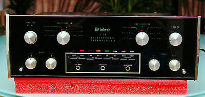 Vintage Mcintosh C28 Stereo Preamplifier with Wood Case