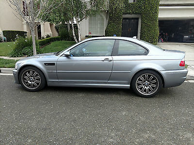 2004 BMW M3 Coupe 2004 E46 M3 Coupe - Silver Grey Metallic / Grey Nappa Leather