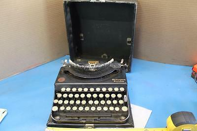 Vintage 1928 Remington Portable Typewriter Model 1 in Case works great