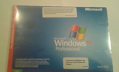 (Sealed) Microsoft Windows XP Professional Edition with SP2 Version 2002