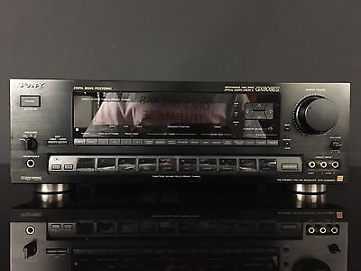 VINTAGE Sony GX808ES Spontaneous Twin Drive Receiver! Tested And Very Clean r5