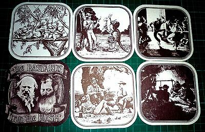 Collectable beer coasters -  Set of 10 Aussie themed coasters