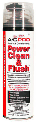 Interdynamics CA1 A/C Pro Auto R134a And R12 Power Cleaner and Flush 17oz