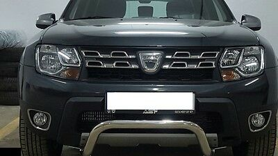 2 Enclosures Fog Light Stainless Steel Dacia Duster Ambiance Prestige Laureate