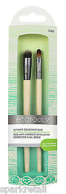 EcoTools Eco Tools ULTIMATE CONCEALER DUO Spot & Under Eye Coverage BRUSH Set