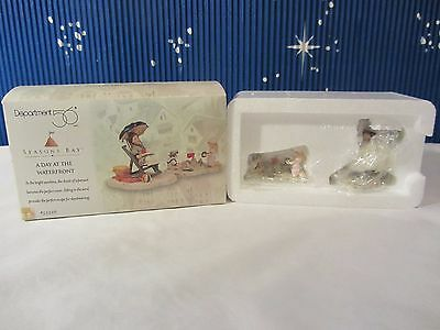 Dept 56 A DAY AT THE WATERFRONT   Seasons Bay Collection   #53326   (Q1016SH)