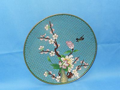 Vintage Chinese Cloisonne' Plate