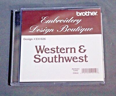 Brother Embroidery Design Boutique #331026 Western & Southwest Memory Card