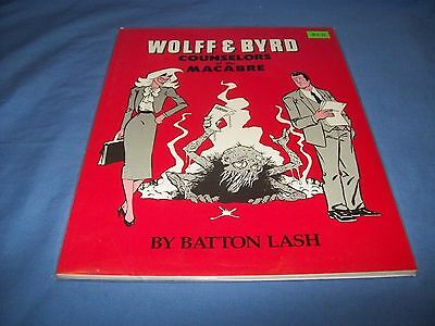 WOLFF & BYRD COUNSELORS OF THE MACABRE Underground Comix by ANDRION BOOKS