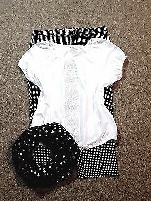 WOMEN'S PLUS SIZE CLOTHING Lot of 3 Size 16 1X  Capri Top Scarf