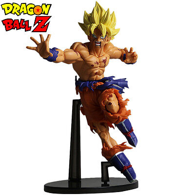 Dragon Ball Z Super Saiyan Son Gokou Statue Toy Action Figure Japanese Anime 7""