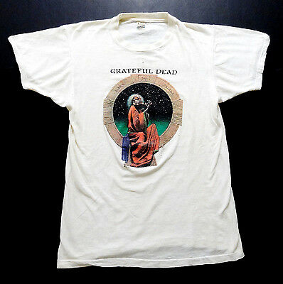 Grateful Dead Shirt T Shirt Vintage 1987 Blues For Allah Fiddler Garris GDP L