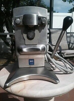 Edlund Model 270 NSF Commercial Electric Can Opener Restaurant Used 2 Speed