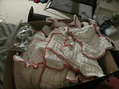 18 lot medium Cloth-eez Green Mountain Fitted Diapers + FREE covers+fasteners