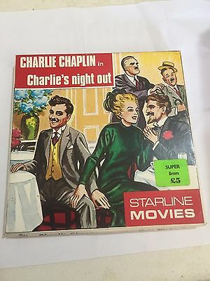 Charlie Chaplin - Charlie's Night Out- Super 8 8mm